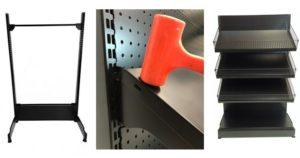Steel Racking Gondola Assembly